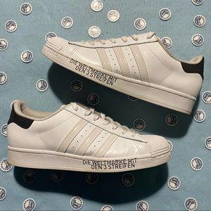 """Adidas Shell Toe """"German Stripes""""  - 10"""